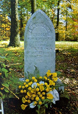 Abraham Lincoln's mother dies.