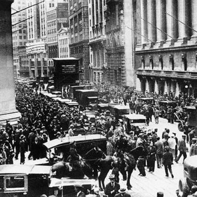 America in the 1920's timeline