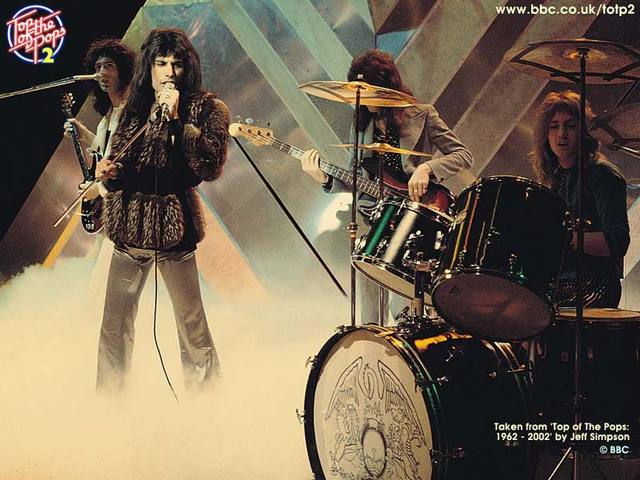 Queen on TOTP