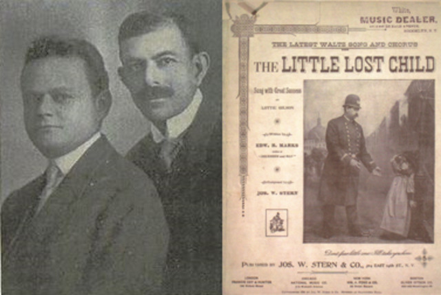 """1894: """"The little lost child"""""""
