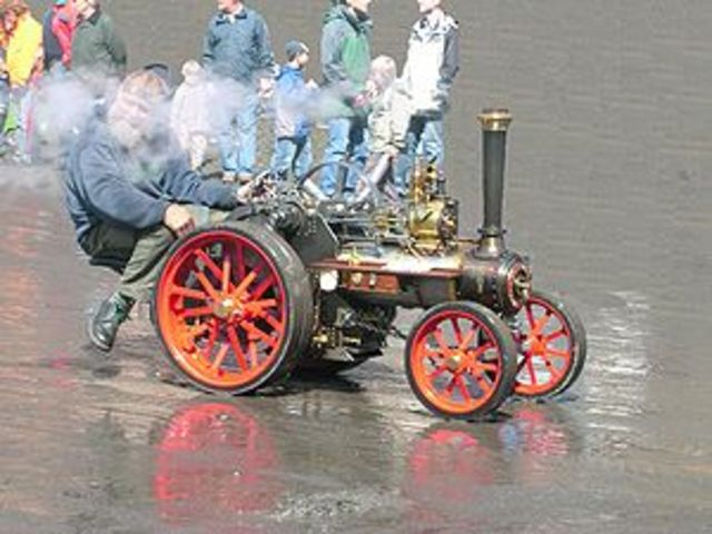 One of the first steam powered cars .  When cars were first designed they were very popular and had a big impact on peoples lives.  Unfortunately all cars were powered by steam,they were not very fast,but as an early form of transport it was very importan