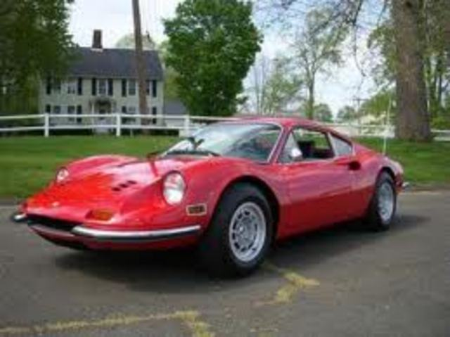 The Ferrari 246 Dino designed in  the early 1960's by Sergio Pininfarina his car was the first of Ferrari's 246 projects.