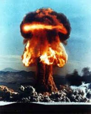 British test bombs