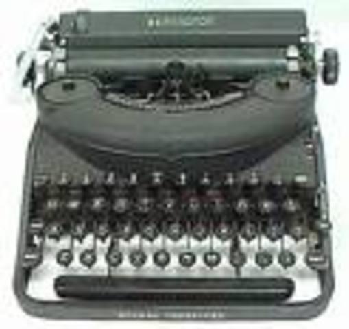 1960's typewriter