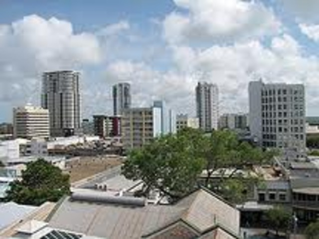 Darwin becomes a city