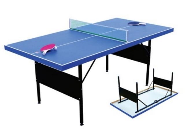 """""""Ping pong"""" tennis."""