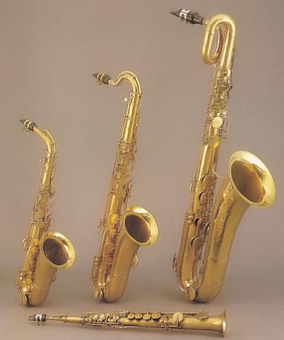 Adolphe  Saxophones at Paris Industrial Exhibition