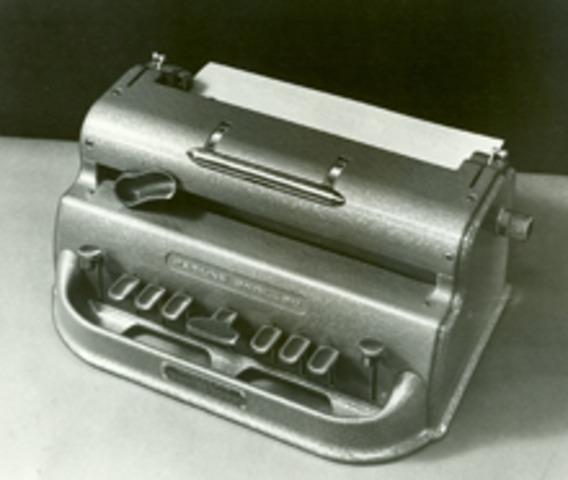 Prototype of Perkins Brailler developed