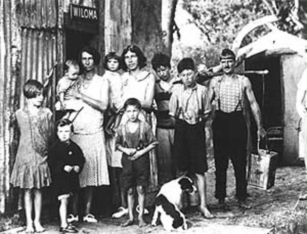 Australian Clothing in 1930