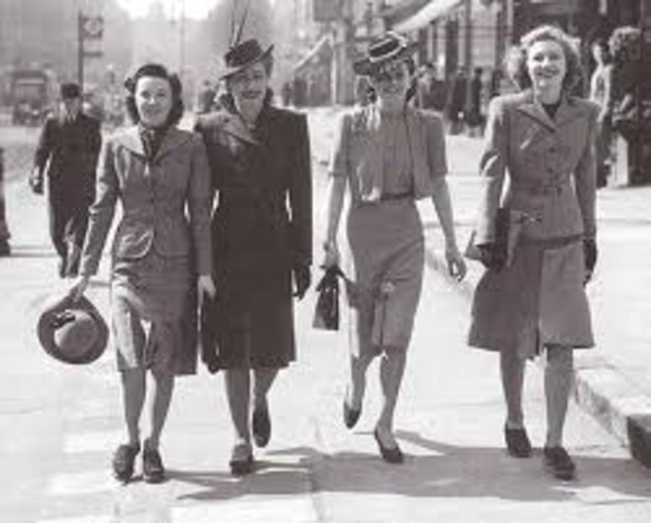 Australian Clothing in 1940