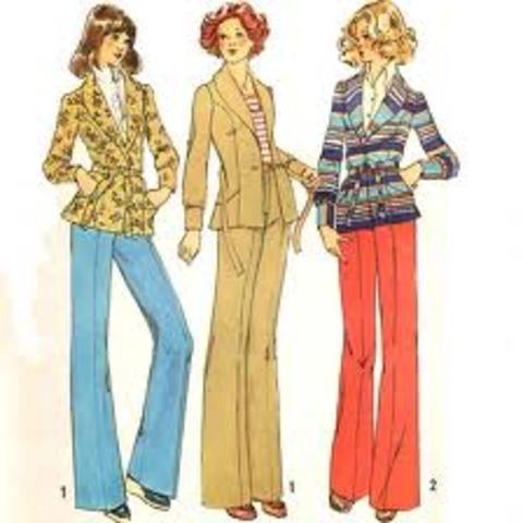 Resultat d'imatges de fashion 1970