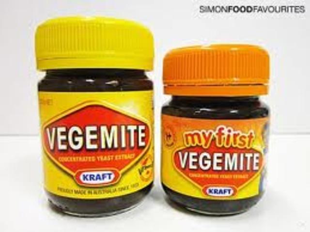 kraft food vegemite