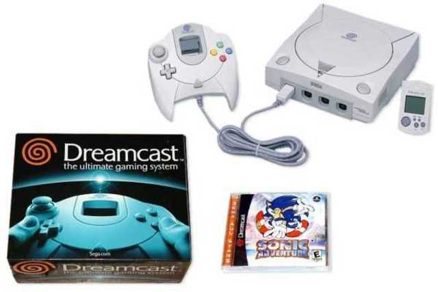 Dreamcast was released in the UK.
