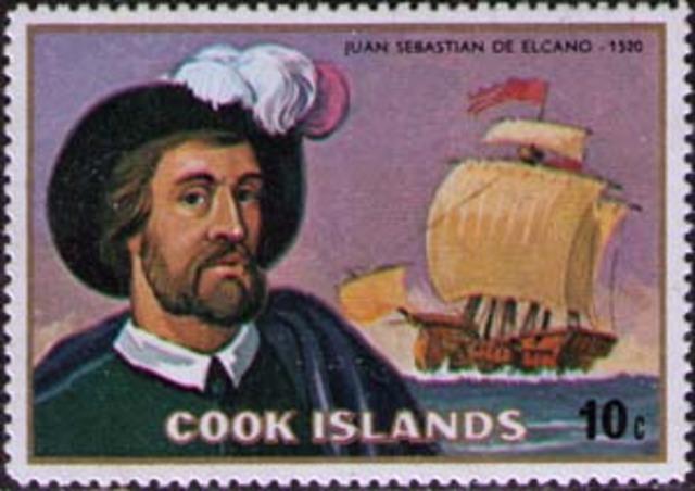 Sebastian Del Cano Sails Around the World