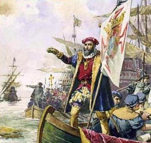 Vasco Da Gama Sails to India