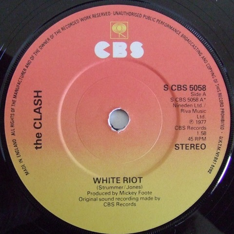 The Clash's first single 'White Riot' was released.