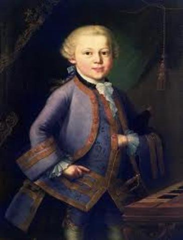 Sus primeras obras para piano.