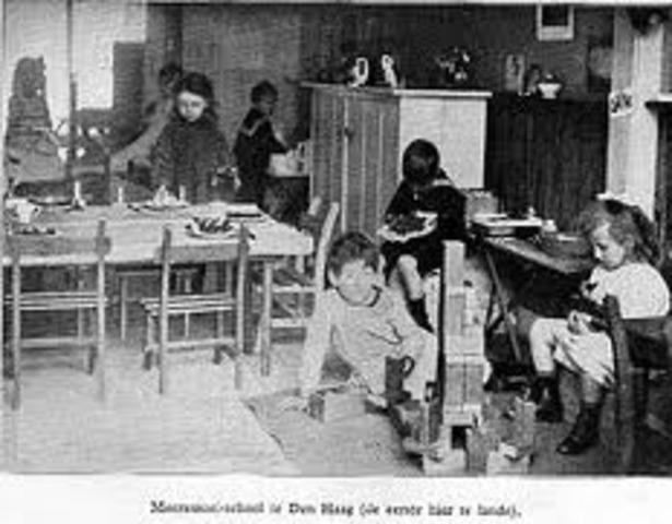 Casa de niños en roma