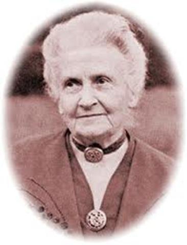 muerte de Maria Montessori