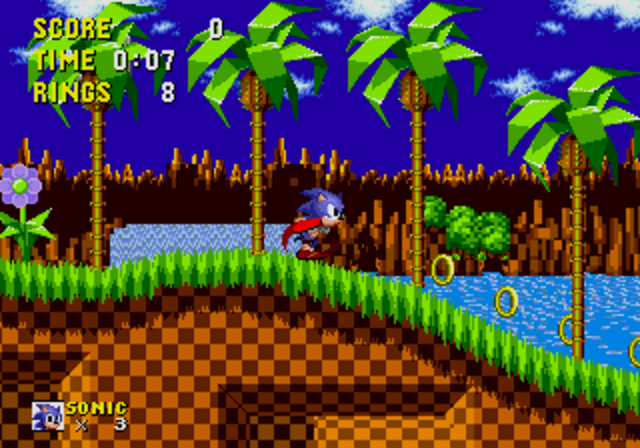 Sonic was Produced.