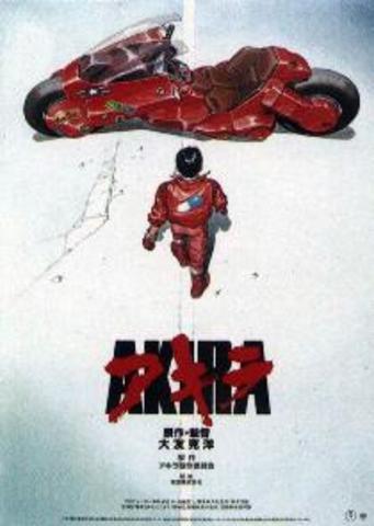 "film ""Akira"" released"