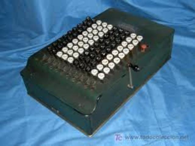Sumadora de teclado