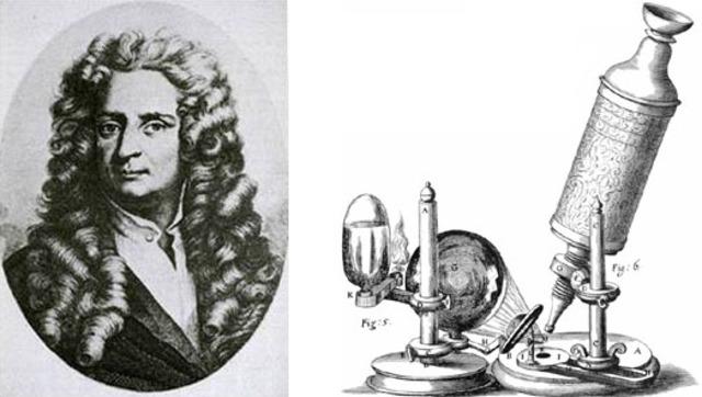 Descoberta da célula por Robert Hook