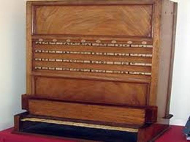 La primera máquina lógica en usar el álgebra de Boole para resolver problemas fue creada por William Stanley Jevons