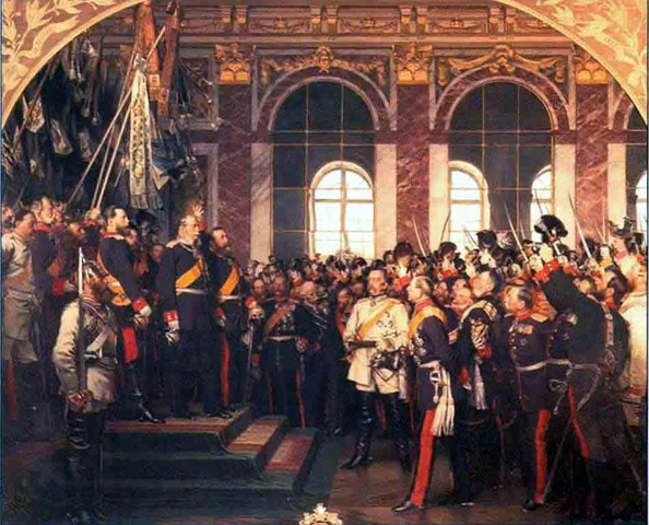 Crowning of Wilhelm I as German Emperor