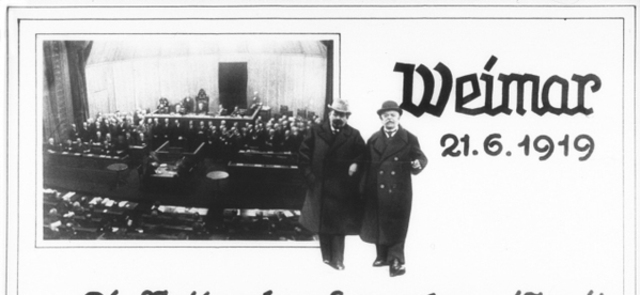 Weimar Republic Begins