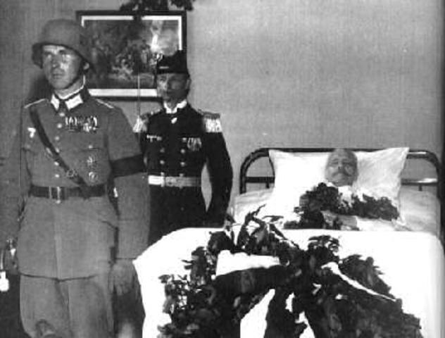 Death of Hindenberg