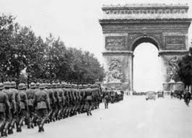 Germans take Paris