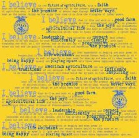 Offical FFA Creed