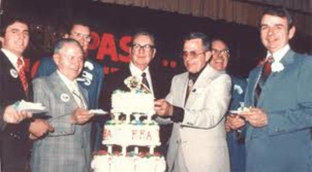 FFA Golden Anniversary.