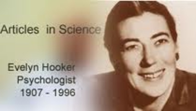 Evelyn Hooker Conducts Phychological Experiments on Homosexuality: