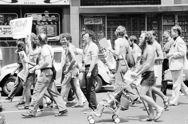 First Gay Rights Demonstration held in America: