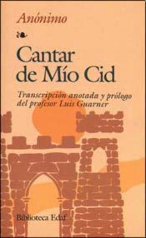 """""""Cantar del Mío Cid"""""""