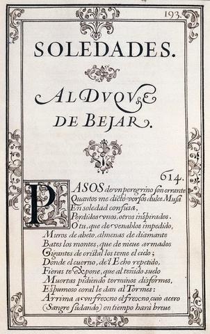 """""""Las Soledades"""""""