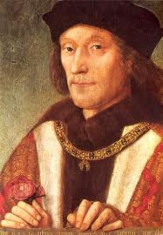 First Tudor king, Henry VII, is crowned