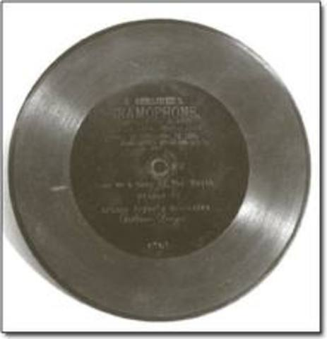 Shellac Gramaphone Disks
