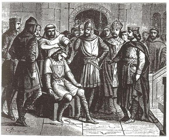 Beginning of Carolingian Dynasty