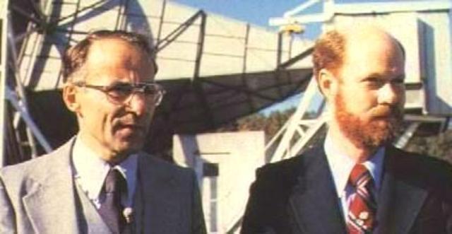 Arno Penzias and Robert Wilson