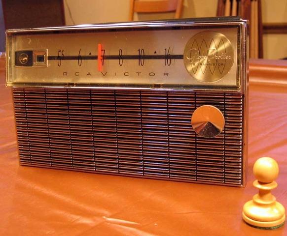 First Transistor Radio