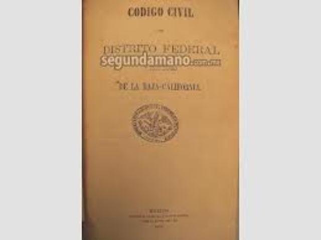 Código Civil de 1870 D.F.