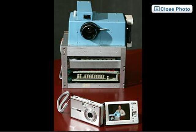 First digital still camera