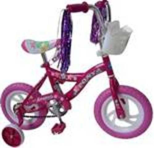 Valecia Learned to Ride a Bike