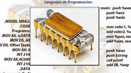 Historia de los Microprocesadores y Evolución de los Lenguajes de Programación. timeline
