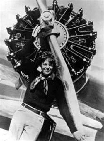 Amelia Earhart Crossed the Atlantic Ocean