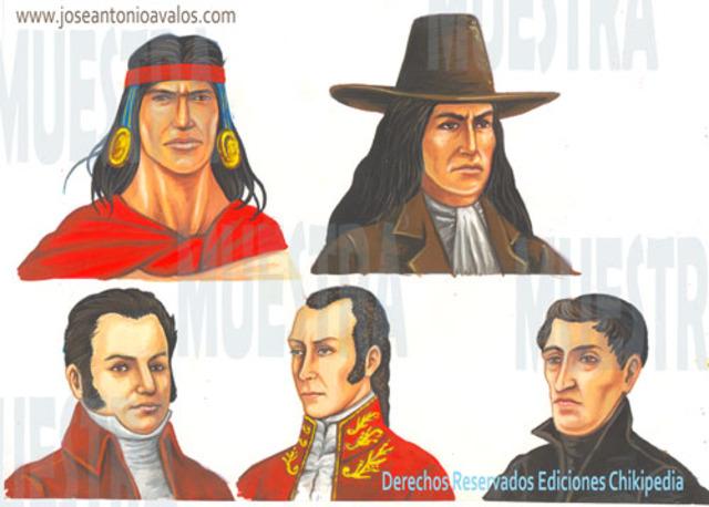 Los precursores de la Independencia : Ideologýa y posición