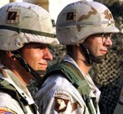 U.S. Military involvment